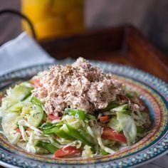 Lemon Tahini Tuna Salad (Paleo) - 14 Make-Ahead Lunches to Whip Up This Week via Brit + Co