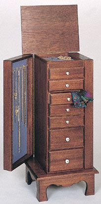 Jewelry Armoire Cabinet Plans Woodworking Projects Amp Plans