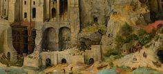 """biblioklept: """" The Tower of Babel (detail) — Pieter Bruegel the Elder The Tower of Babel (detail), 1563 by Pieter Bruegel the Elder (c. 1525-1530–1569) """""""