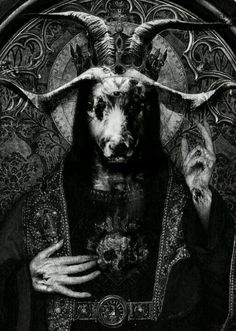 Baphomet/Moloch. More people than just Muhammad the false prophet have dealt with this devil/demon including Solomon and/or Knights Templar, Illuminati, and Hitler. Also infiltrated the church