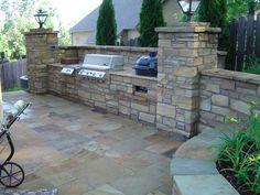 Outdoor Kitchen by Zachary Coffield