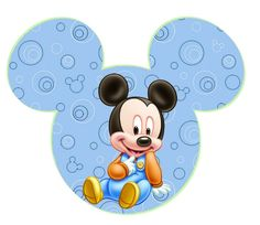 Bautismo y primer año Baby Mickey on Pinterest | Baby Mickey, Baby ...