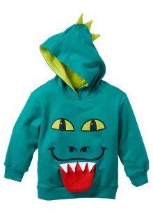 Sweatshirt, bpc bonprix collection, donkersmaragdgroen