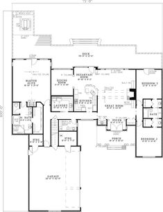 Amazing rear deck with a hot tub!! - plan 055D-0317 - houseplansandmore.com