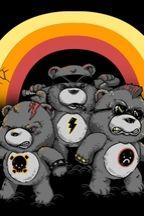 ha, the don't care bears!