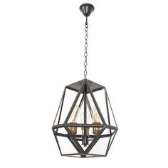 Vaille 3 Light Pendant In Oil Rubbed BronzeThe Block Shop