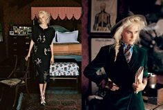 Vogue Australia Dec 11, Isabel Lucas, Photographer: Max Doyle, Art Direction: Paul Meany, Stylist: Naomi Smith