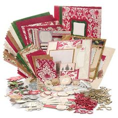Anna Griffin® Complete Instant Holiday Album Scrapbook Kit at HSN.com.