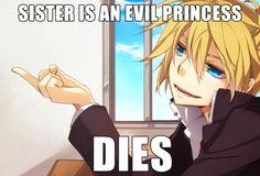 Vocaloid Memes - Daughter of Evil/Servant of Evil