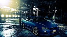 nissan skyline gt r wallpapers