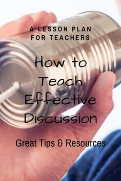 5 Tips for Teaching Effective Discussion Geography Lessons, Teaching Geography, Teaching History, Teaching Strategies, Teaching Resources, Teaching Ideas, Student Behavior, Teacher Lesson Plans, Primary Sources