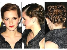 Summer Hairstyle Trend 2013: How To Get Emma Watson's Braided Updo At Bling Ring Movie Premiere