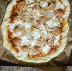 Sausage & Sauerkraut Pizza