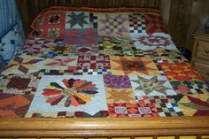 Magnificant Autumn Splendor Queen Size by QuiltsForAllReasons, $675.00
