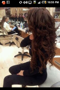 Prom hair...I have long and thick enough hair.