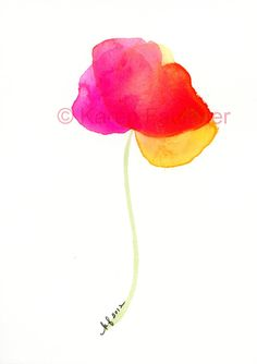 Summer Day by karen faulkner.  So simple, so colorful.  love it