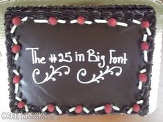"""Just a little taste of CakeWrecks.com: """"When Professional Cakes Go Horribly, Hilariously Wrong"""""""