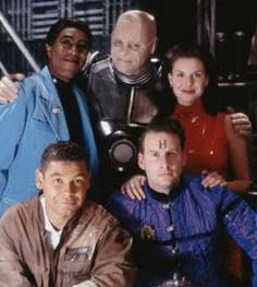 Red Dwarf - one of the best shows ever! Blackadder, Devious Maids, Red Dwarf, Best Sci Fi, Classic Comedies, Half Man, Famous Monsters, British Comedy, Don't Panic