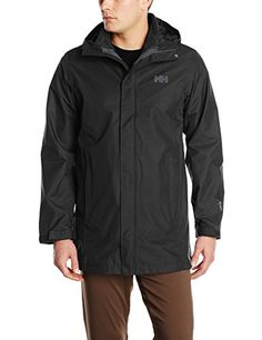 Helly Hansen Mens Eight Q Cis Coat Black XLarge >>> Want to know more, click on the image.(This is an Amazon affiliate link and I receive a commission for the sales)