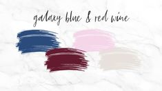 Blue and red wine wedding color scheme Winter Wedding Colors, Winter Weddings, Wine Colored Wedding, Dog Wedding, Wedding Color Schemes, Red Wine, Palette, Autumn, Blue