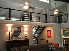 Gorgeous modern railing. #atlantacurbappeal #modern #renovations