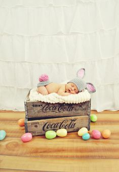 baby bunny #EasterPictures