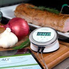 iGrill Kitchen Thermometer är värstingtermometern som håller koll på maten http://www.smartasaker.se/igrill-kitchen-thermometer.html
