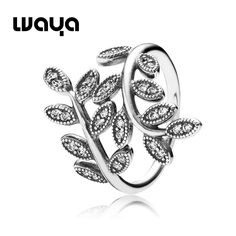 R0003, US $ 15/piece. Size : 5.5, 6, 7, 7.5, 9. Cheap silver spring jewelry, Buy Quality silver lace wedding dress directly from China silver spray Suppliers:  925 Sterling Silver Leaves Ring With Cubic Zirconia European Fine Brand Jewelry For Women Birthday Gift Rings&nbsp