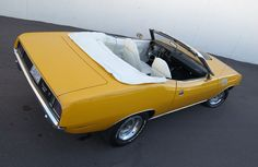 All About Muscle Car: Convertible 1971 Plymouth Hemi 'Cuda-Muscle ...