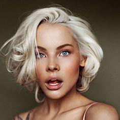 Окрашивание платиновый блонд 2015-2016