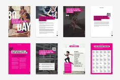 Fitness Bold Ebook Template by Providence Studio on Creative Market - #Bold #Creative #eBook #Fitness #Market #Providence #studio #template