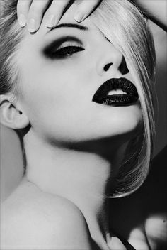 You can pair smokey eyes with a dark black lipstick as well for that very melodramatic look.