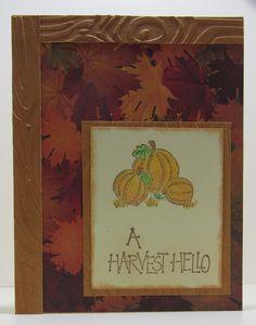 Simple autumn card