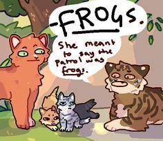 Warrior Cats Funny, Warrior Cats Comics, Warrior Cat Memes, Warrior Cats Series, Warrior Cat Drawings, Warrior Cats Fan Art, Warrior Cats Art, Cat Comics, Warriors Memes