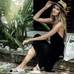 We're geared up with the HALEIGH by HISPANITAS and ready for warmer weather. Made in Spain. Now available at www.petersheppard.com.au