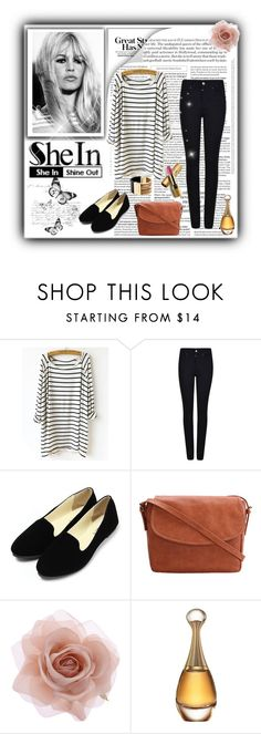 """""""Brigitte Bardot"""" by milica-b3 ❤ liked on Polyvore featuring Armani Jeans, Accessorize, Christian Dior, Avon, Michael Kors, Sheinside and shein"""
