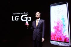 LG G3 launch event 2014