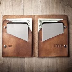 Fancy - Minimal Slim Wallet by Mr. Lentz