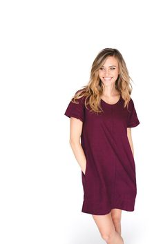 THE DRESSEMBER DRESS (WINE) - Partnership between Elegantees + Dressember to end human trafficking and slavery! Use code HOMEWITHTHEBOYS for 10% off!