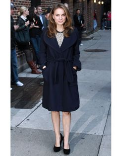 Make the coat the outfit and don't stress too much what dress goes under the coat.