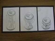 ART with Mrs. Smith: Soda Can Triptychs
