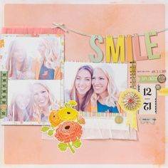 Smile by Elizabeth Kartchner using Dear Lizzy Neapolitan