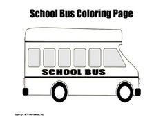 This printable school bus coloring page provides an easy sponge activity for a related theme unit. Those searching for a pdf download to print and use immediately will find this resource helpful.