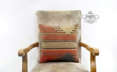 Nomadic 16 Pillow Tribal Red Vintage Turkish by AnatoliaCollection