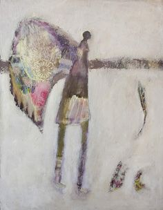 """Another Thing With Feathers - 36"""" x 48"""""""