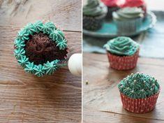 florecitas cupcakes