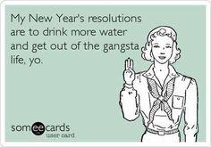 New Year humor