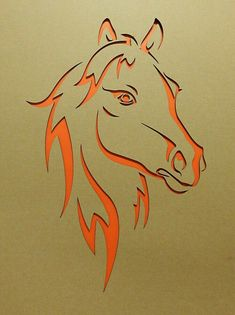 Pferdekopf lasergestanzt Pappkarton Horse head laser-cut cardboard Image Size: 1906 x 2551 Source Horse Stencil, Stencil Art, Stencil Designs, Horse Head, Horse Art, Kirigami, Metal Art, Wood Art, Horse Pattern