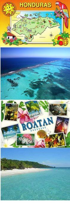 Roatan, Honduras done! Tegucigalpa, Dream Vacations, Vacation Spots, Bolivia, Honduras Travel, Roatan Honduras Map, Ecuador, Places To Travel, Places To Visit