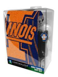 LinksWalker: Towel Gift Packs - Illinois Fighting Illini.  Buy it @ ReadyGolf.com